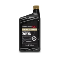 Моторное масло HONDA Synthetic Blend 5W20 SN, 0.946л